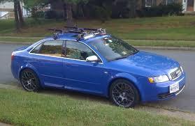 2004 audi s4 blue b6 s4 with 18 vmr v710 gunmetal rims