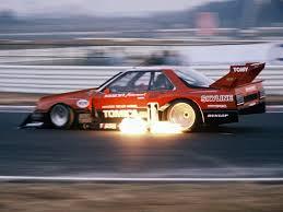 nissan skyline japan motorsport watch the fire breathing skyline super silhouette