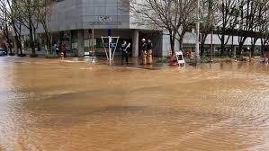 Portland Flooding Map by Hawthorne Bridge Water Main Repair Work Complete