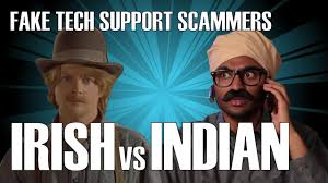 Meme Tech Support - fake tech support scammers irish vs indian youtube