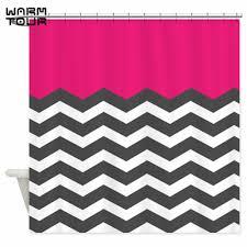 Dark Pink Shower Curtain by Excellent Pink Shower Curtain Pictures Inspiration Bathtub