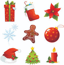 christmas ornaments vector for free holidays and observances