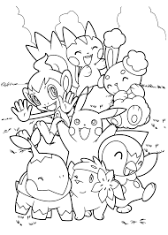 pokemon to color coloring book coloring book ideas