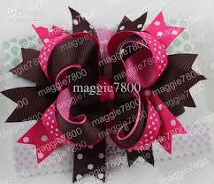 girl hair bows boutique flag hair bow handmade ribbon hairbows hairband
