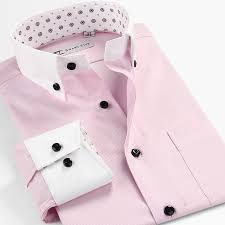 mens dress shirts with white collar and cuffs photo album best