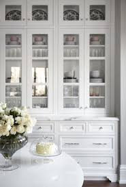 white kitchen cabinet with glass doors lyndhurst kitchen glass kitchen cabinet doors glass