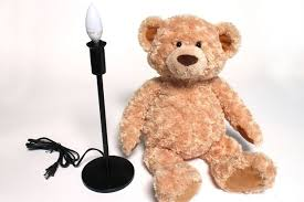 teddy bear lamp 17 steps with pictures