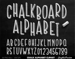 chalk letters etsy