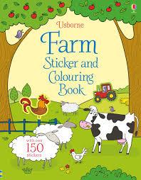 sticker colouring books u201d usborne children u0027s books