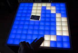 Wohnzimmertisch Led Beleuchtung Led Tisch Mit Berührungs Gegenstandserkennung Mikrocontroller Net