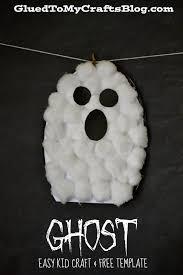 halloween ghost kid craft kids crafts crafts and halloween