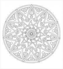 22 mandala coloring pages jpg ai illustrator download