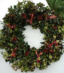 live christmas wreaths wreath at the farm garden walk garden talk