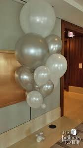 big balloon delivery purple and silver corporate large balloon bouquet 113 balloons