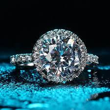 big stone rings images Jiangyue lady rings halo big stone aaa cubic zirconia rhodium jpg