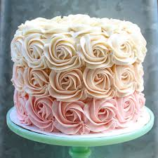 best 25 pink rosette cake ideas on pinterest baby birthday