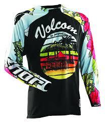 thor motocross jerseys thor core volcom aloha jersey revzilla