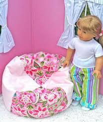 How To Make Chair Covers How To Make A Bean Bag Chair For Dolls Jpg