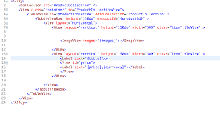 view layout alloy how to display images from my api json array stack overflow