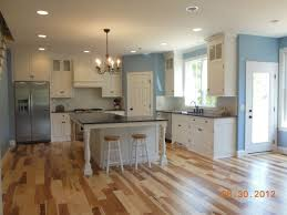 Natural Hickory Kitchen Cabinets Hostetler Builders