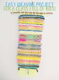 we a collaborative fibre art weaving for primary art