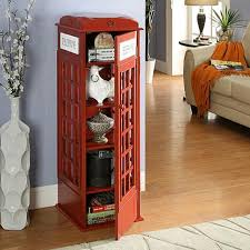 london phone booth bookcase london phone booth book shelf furniture shelves drawers on carousell