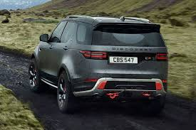 discovery land rover 2018 land rover discovery svx revealed in pictures by car magazine