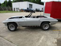 cheap corvette 1965 corvette sting convertible rolling project cheap mid