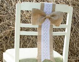 wedding chair sashes wedding chair sashes etsy