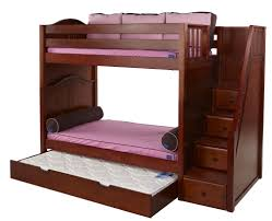 High End Bunk Beds Maxtrix High Bunk Bed Wstaircase On End Twintwin 2017 Including