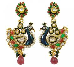 design of earing 25 peacock inspired beautiful earrings designs for gorgeous