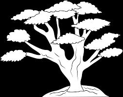 black oak tree clipart 54