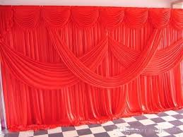 Curtains Wedding Decoration 2015 New Designed Fabric Satin Drape Curtain Wedding Backdrop