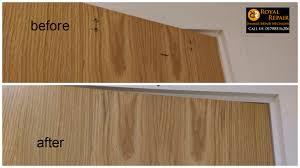 Repair Dent In Laminate Floor Door Repairs Royal Repair