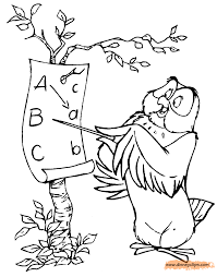 winnie the pooh u0026 friends coloring pages 6 disney coloring book