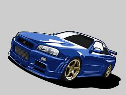 nissan skyline clipart collection