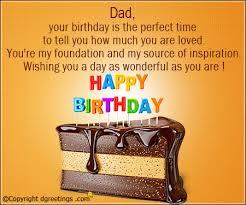 dad your birthday happy birthday father card