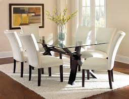 Glass Top Dining Table And Chairs Amazing Dining Table With Square Glass Top And Stainless Steel