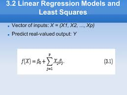 chapter outline 3 1 introduction ppt download 3 2 linear regression models and least squares