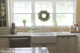 kitchen contemporary kitchen decoration with farm sinks for