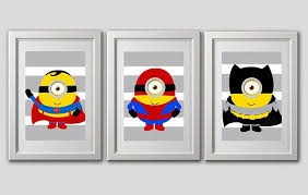 Minions decor ideas for a kid bedroom – Bumble Bee Murals