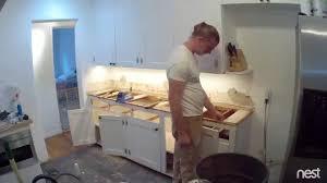 butcher block countertop installation youtube