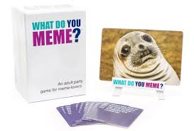amazon com what do you meme party game toys u0026 games