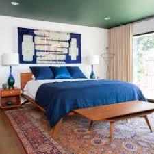 blue midcentury modern bedroom photos hgtv
