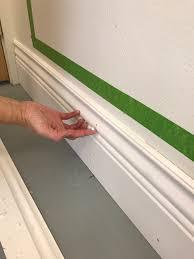 one room challenge week 4 diy wall moldings with metrie the