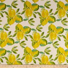 Sage Home Decor Art Gallery Sage Canvas Yuma Lemons Mist Discount Designer