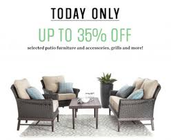 Sears Canada Patio Furniture Sears Canada Online Flash Sale Up To 35 Off Patio Furniture And