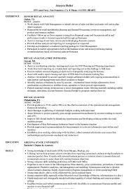exle resume for retail retail analyst resume sles velvet
