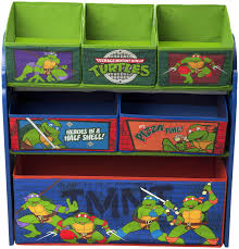Ninja Turtle Wall Decor Bedroom Very Attractive Toy Organizer With Bins For Playing Kids