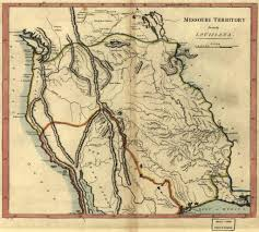 Louisiana Territory Map by Canada And The Louisiana Purchase Shannon Selin